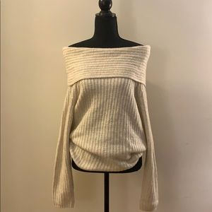 Off The Shoulder OR Cowl Neck Sweater